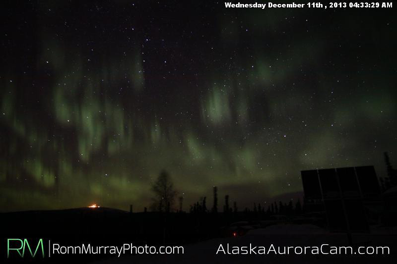 Beautiful Breakup - Dec 11th, Alaska Aurora Cam