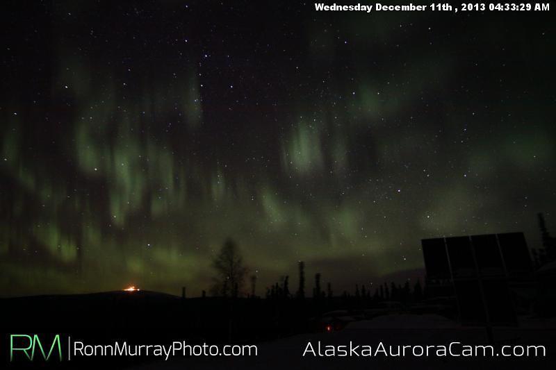 Beautiful Breakup - Dec 11th, Alaska Aurora Cam