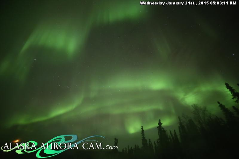January 20th - Alaska Aurora Cam