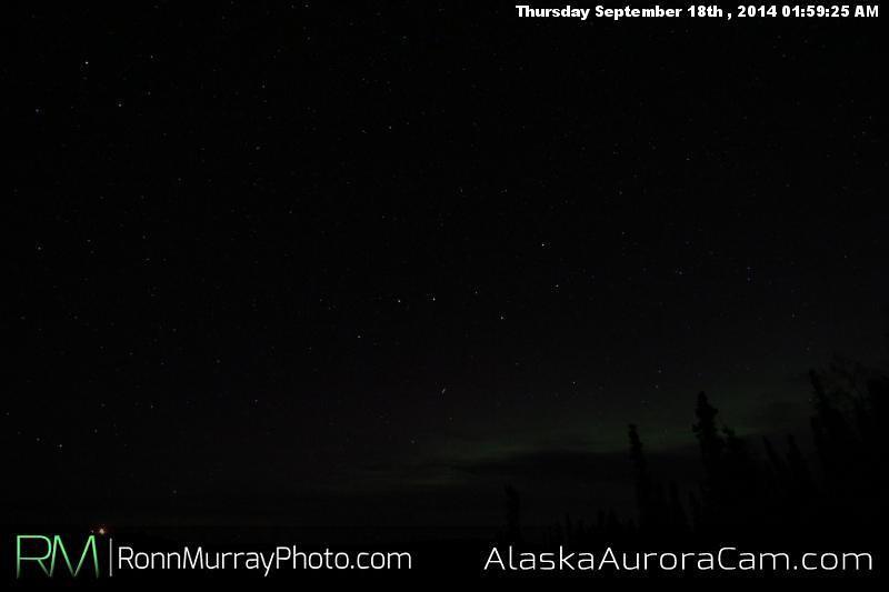 September 17th - Alaska Aurora Cam