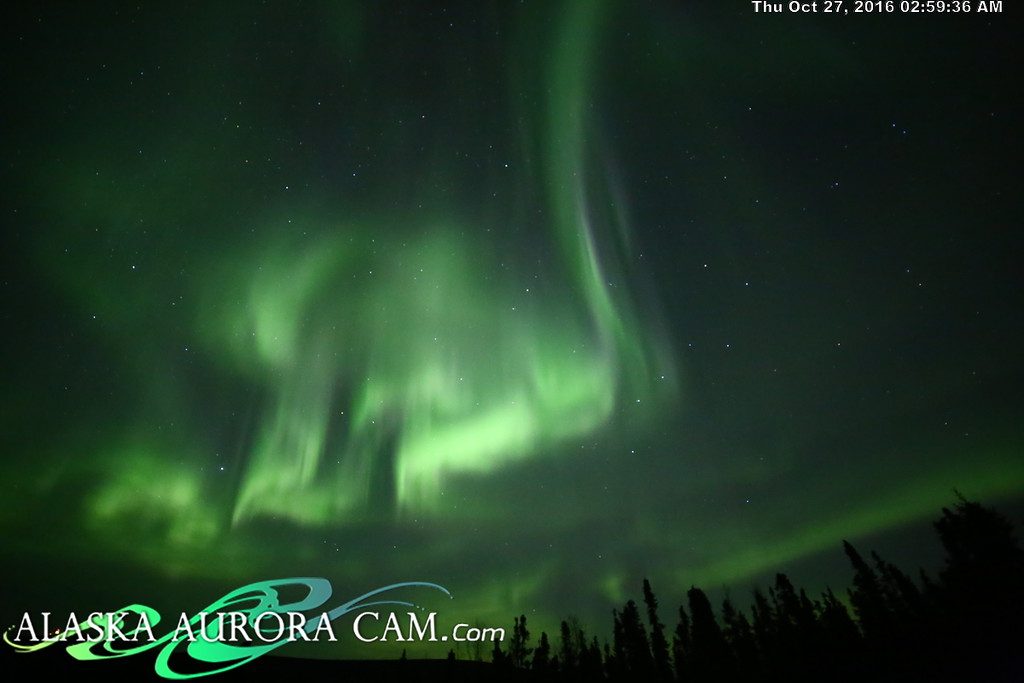 October 26th  - Alaska Aurora Cam