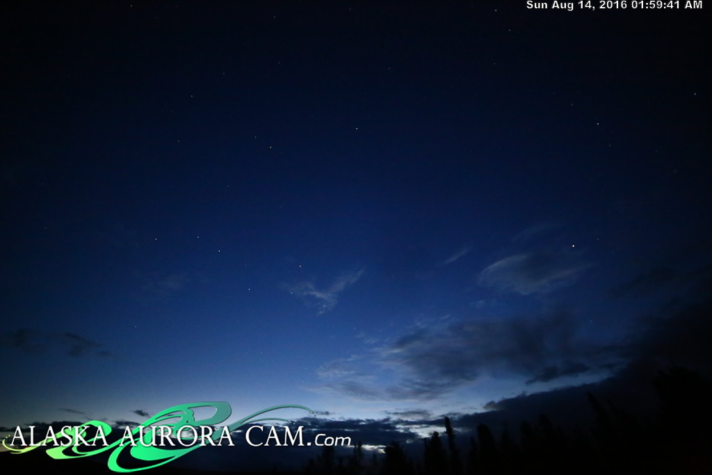August 13th - Alaska Aurora Cam