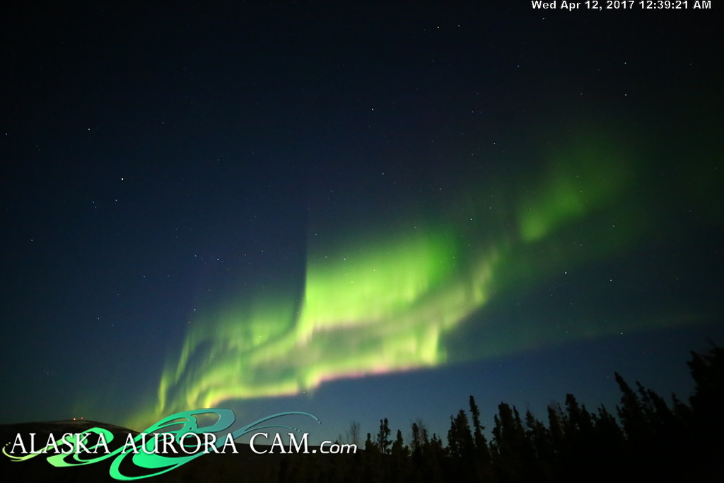 April 11th  - Alaska Aurora Cam