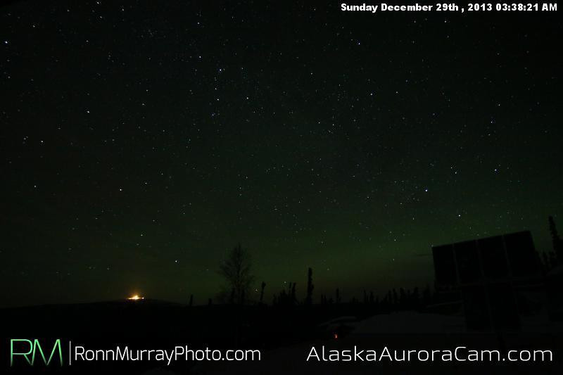 Late Clearing - Dec 29th,  Alaska Aurora Cam