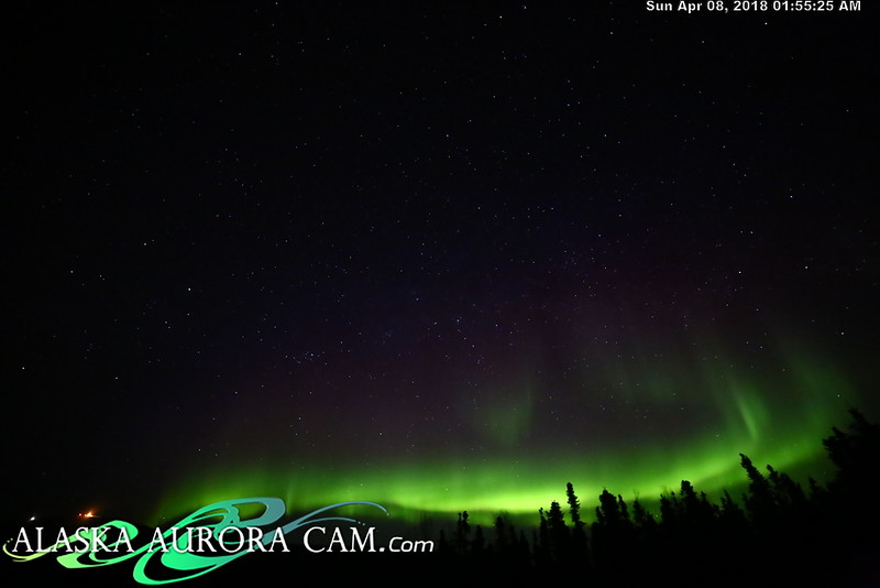 April  7th  - Alaska Aurora Cam