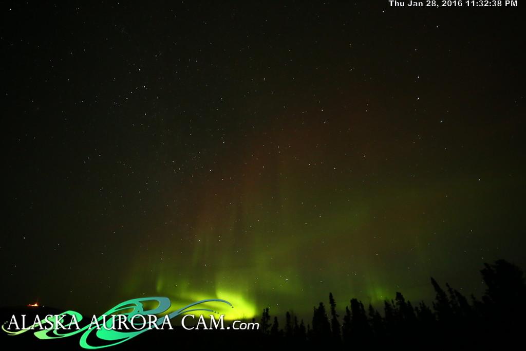 January 28th  - Alaska Aurora Cam