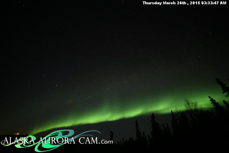 March 25th - Alaska Aurora Cam