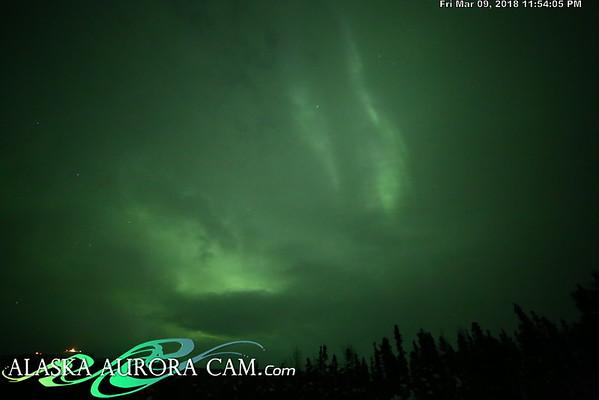 March 9th  - Alaska Aurora Cam