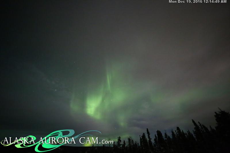 December 18th  - Alaska Aurora Cam