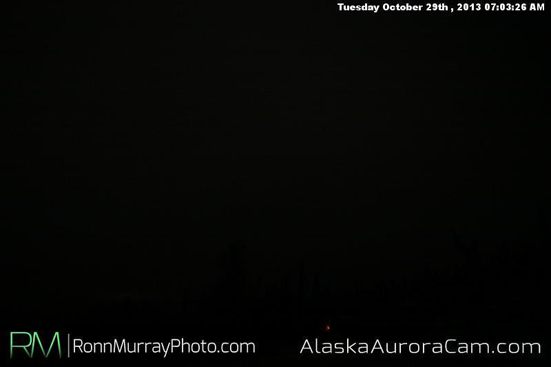 Socked In - Oct. 29th, Alaska Aurora Cam