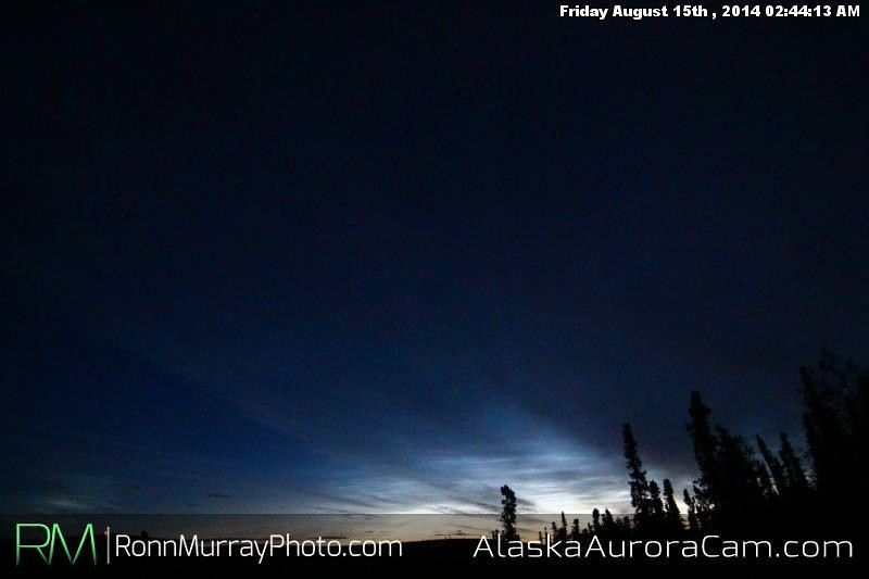 August 14th - Alaska Aurora Cam