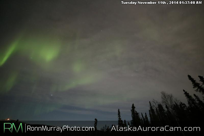 November 10th - Alaska Aurora Cam