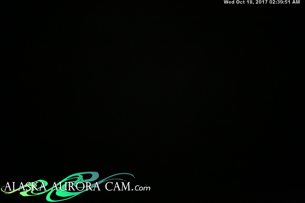 October 17th - Alaska Aurora Cam