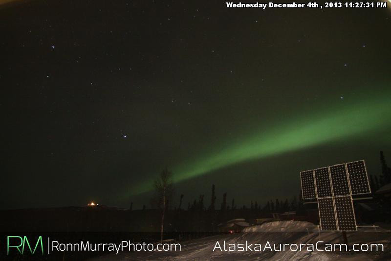 Battle for the Skies - Dec 5th, Alaska Aurora Cam