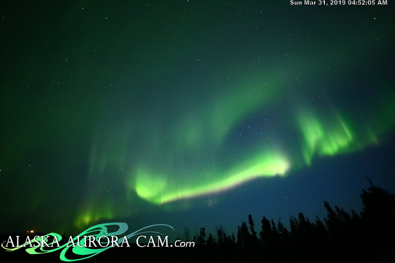 March 3oth - Alaska Aurora Cam