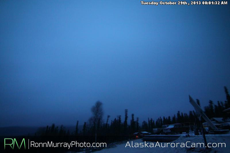 Snow Extra - Oct 29th, Alaska Aurora Cam