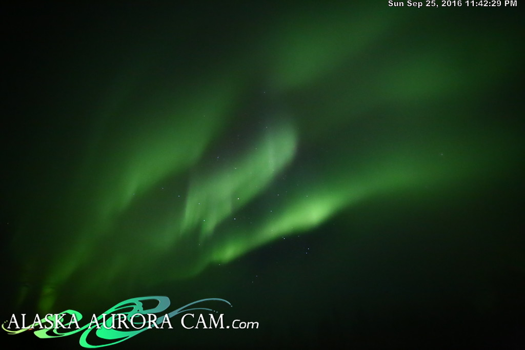 September 25th - Alaska Aurora Cam