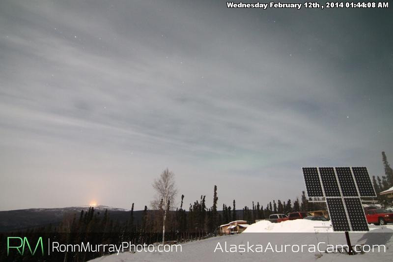 February 12th - Alaska Auora Cam