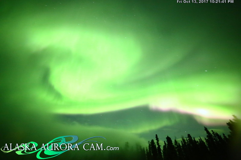 October 13th - Alaska Aurora Cam
