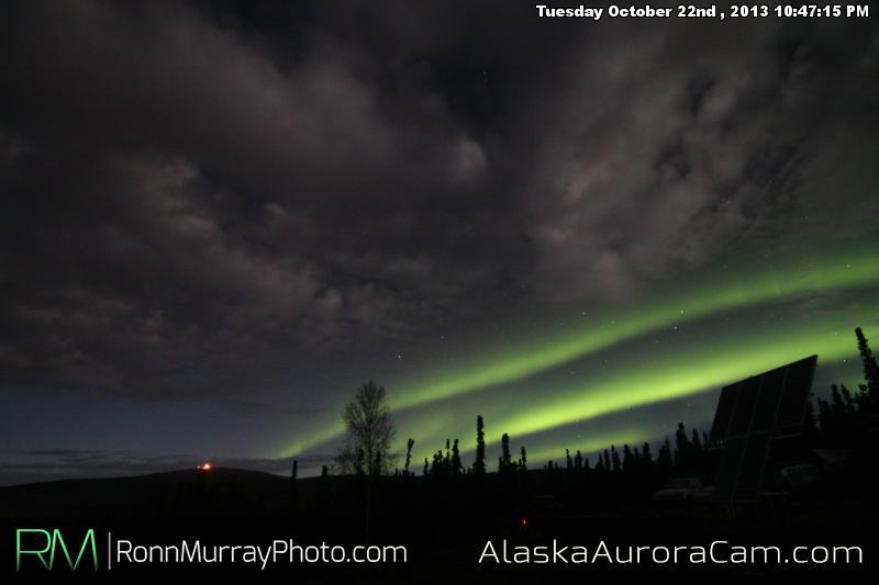 Battle for the Stage - Oct 23rd, Alaska Aurora Cam
