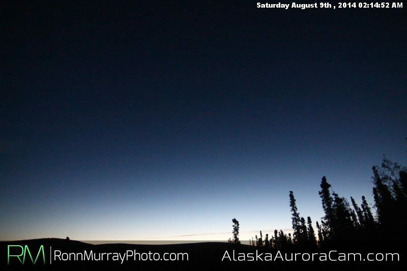 August 8th - Alaska Aurora Cam