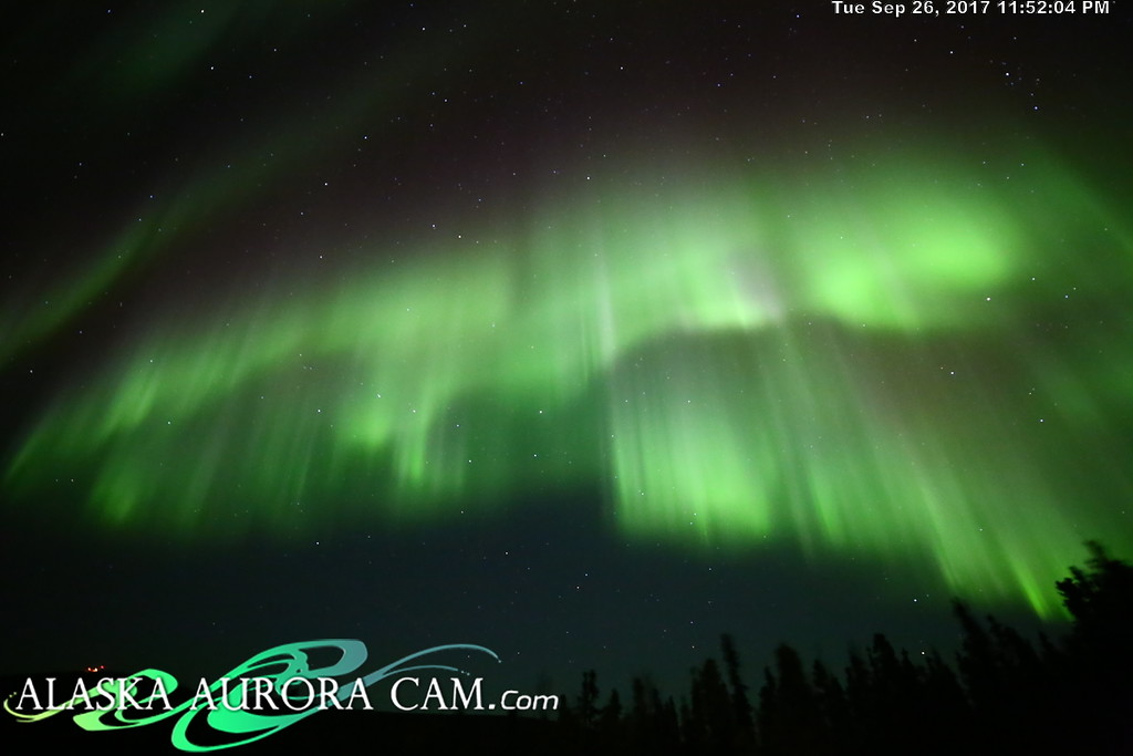 September 26th - Alaska Aurora Cam