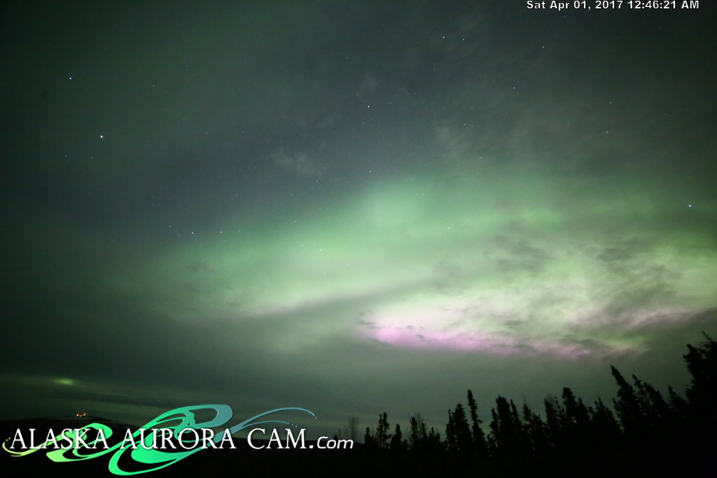 March 31th  - Alaska Aurora Cam