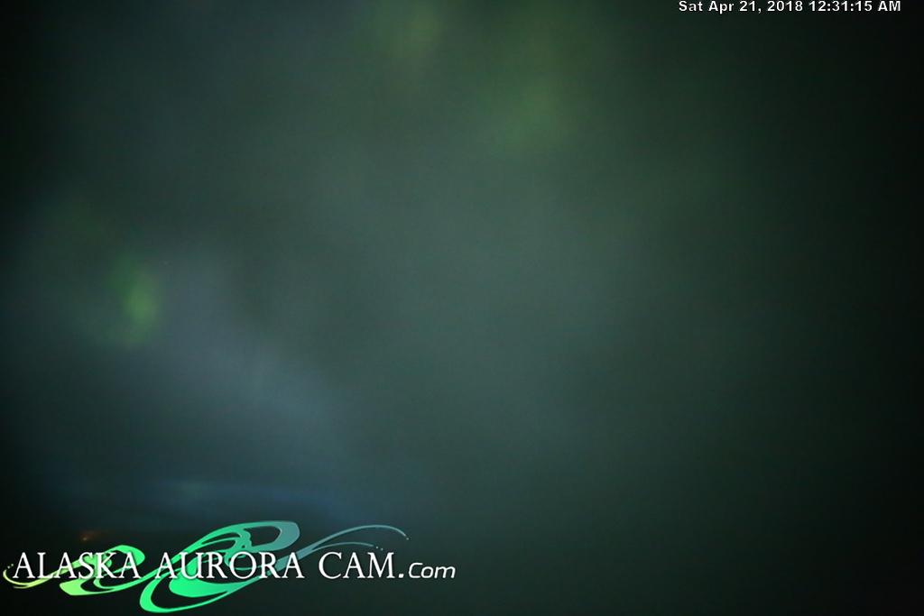 April  20th  - Alaska Aurora Cam