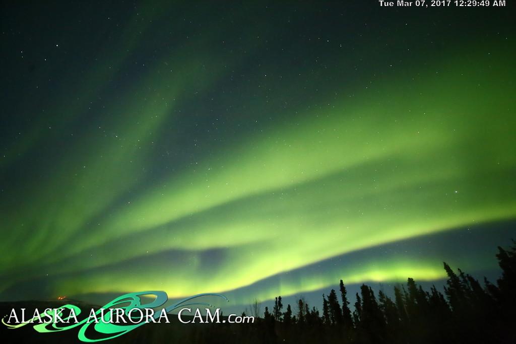 March 6th  - Alaska Aurora Cam
