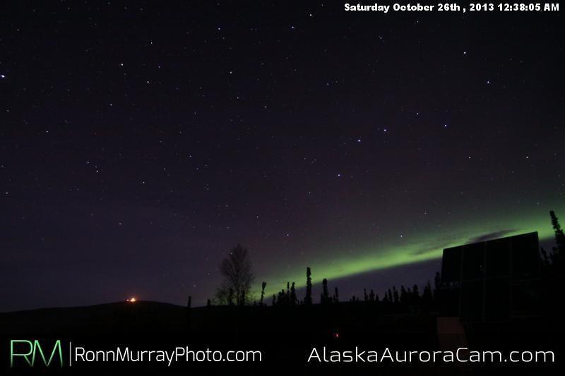 A Good Start - Oct. 26th, Alaska Aurora Cam