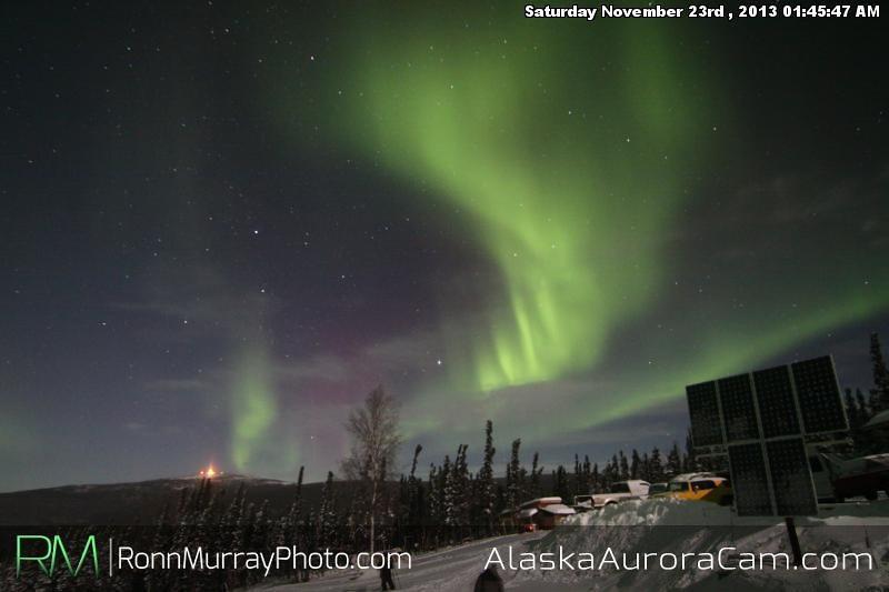 Aurora Filled Sky - Nov 23rd, Alaska Aurora Cam