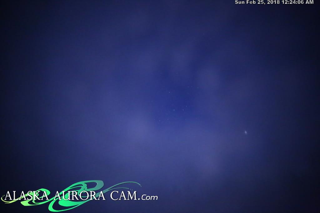 February 24th  - Alaska Aurora Cam