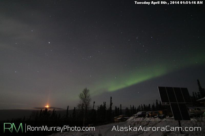 April 8th - Alaska Aurora Cam