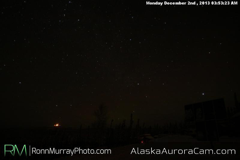 Long Dark Night - Dec 2nd, Alaska Aurora Cam