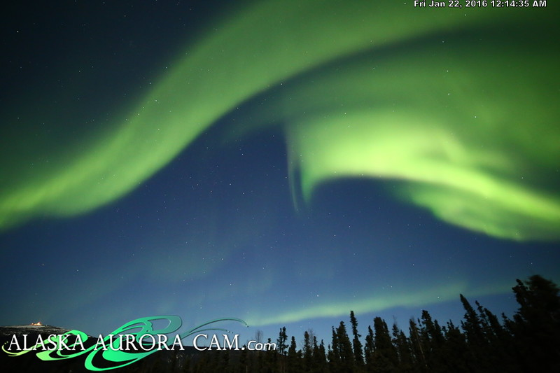 January 21st  - Alaska Aurora Cam