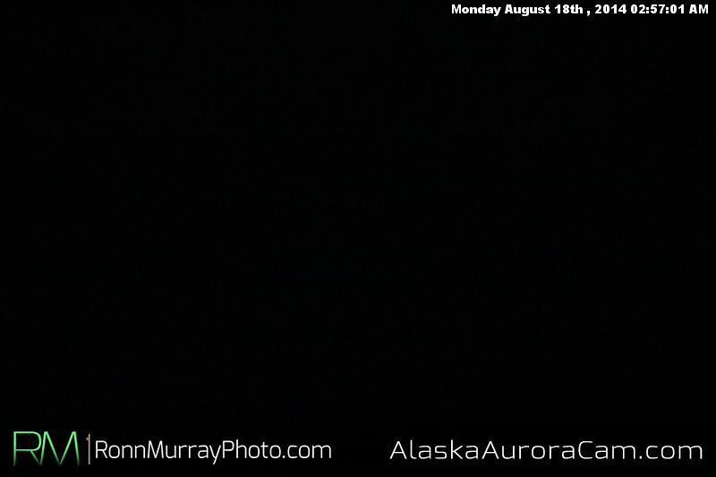 August 17th - Alaska Aurora Cam