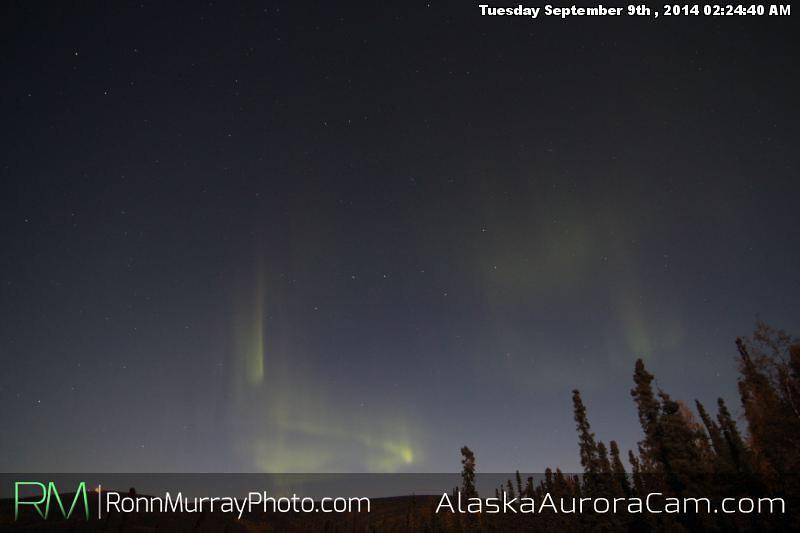 September 8th - Alaska Aurora Cam