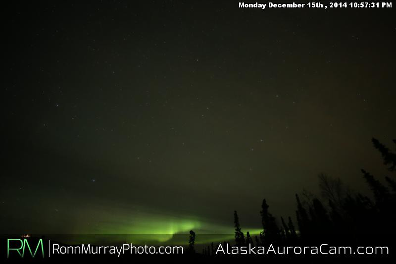 December 15th - Alaska Aurora Cam