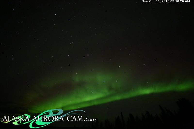 October 10th - Alaska Aurora Cam