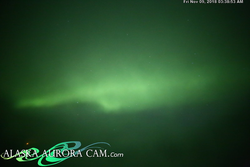November 8th - Alaska Aurora Cam