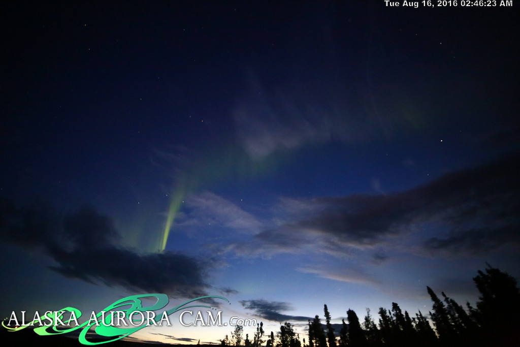 August 15th - Alaska Aurora Cam