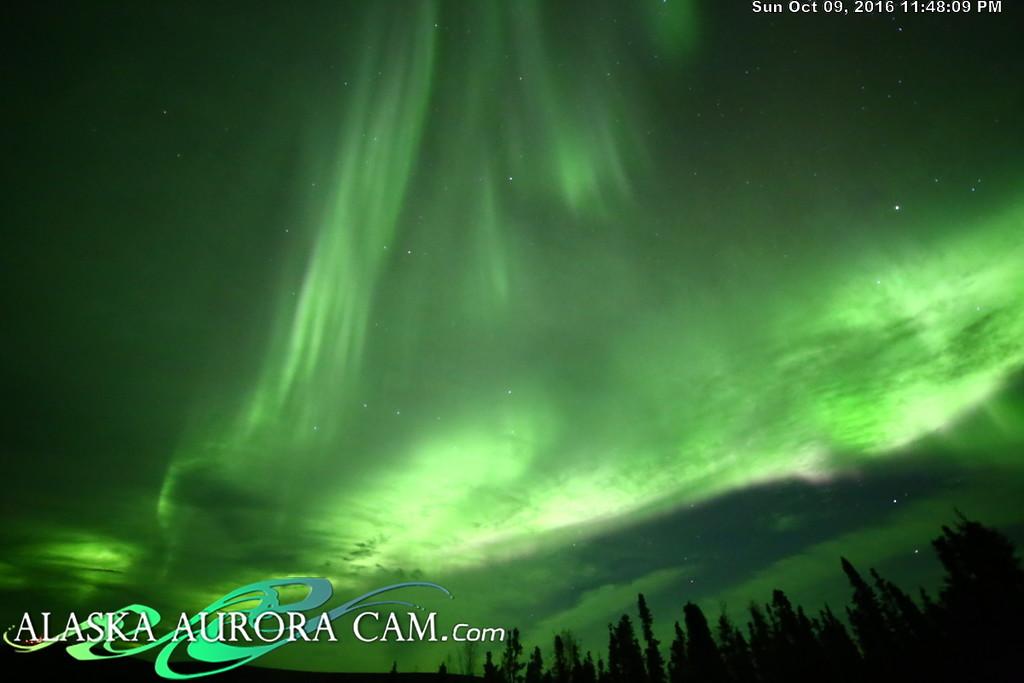 October 9th - Alaska Aurora Cam