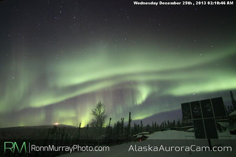 Christmas Miracle - Dec 25th, Alaska Aurora Cam