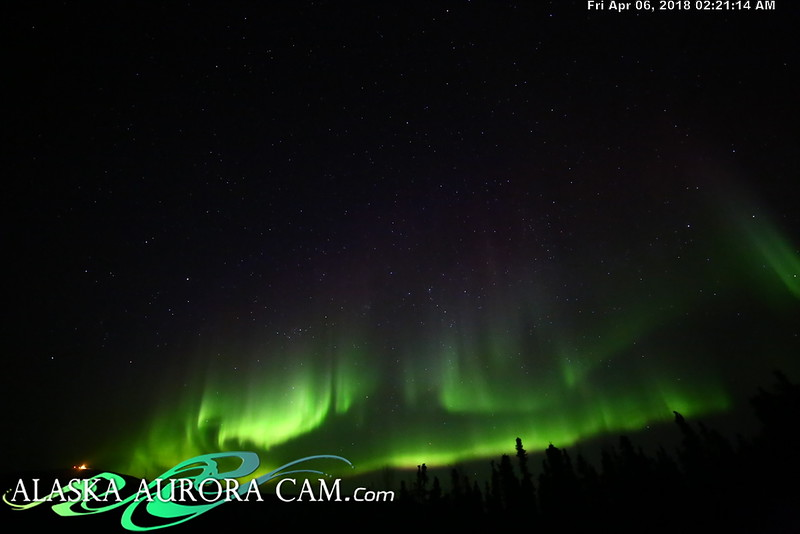 April  5th  - Alaska Aurora Cam