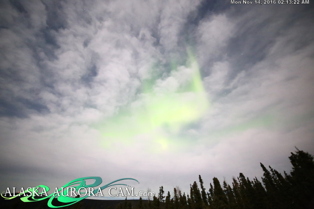 November 13th  - Alaska Aurora Cam