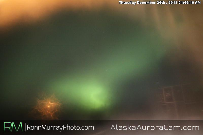 Ice up! - Dec 26th, Alaska Aurora Cam