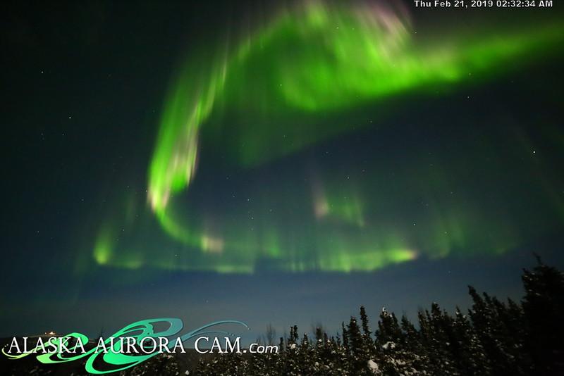 February 20th - Alaska Aurora Cam