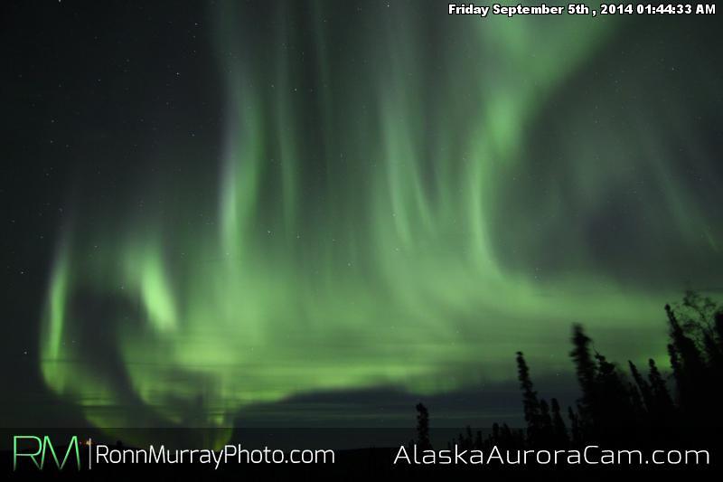 September 4th - Alaska Aurora Cam
