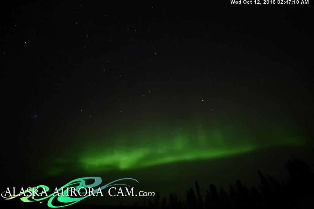 October 11th - Alaska Aurora Cam