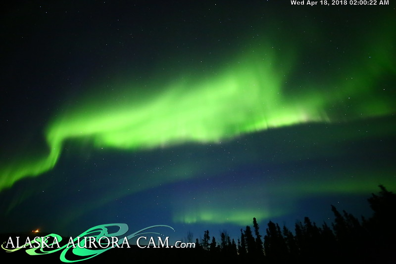April  17th  - Alaska Aurora Cam